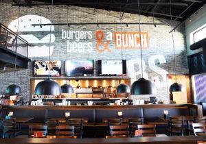 Interior of Burger Shed