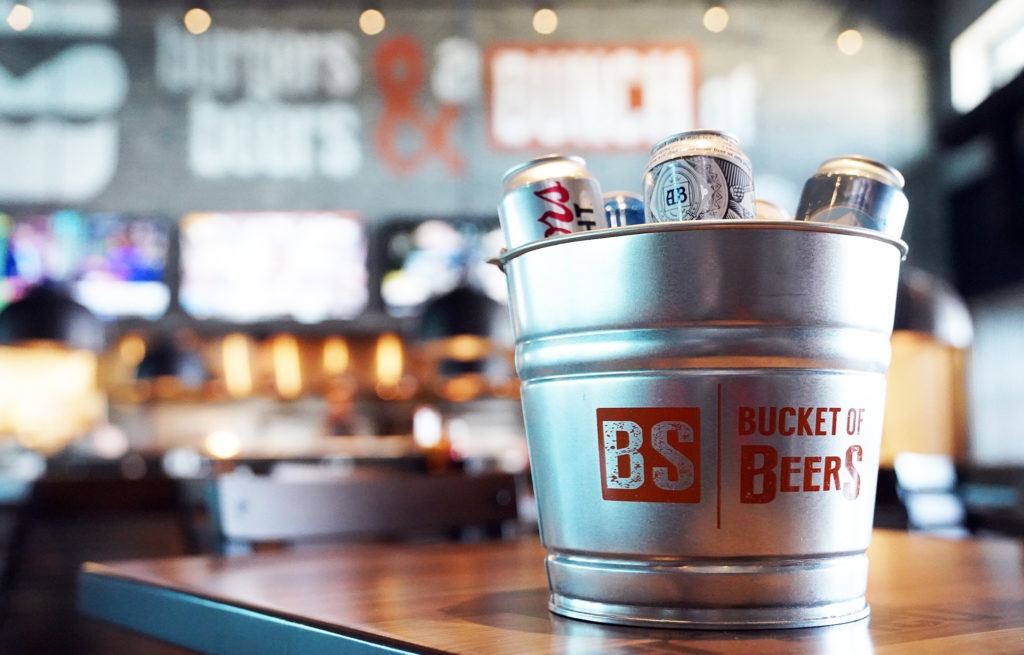 Burger Shed Beer Bucket