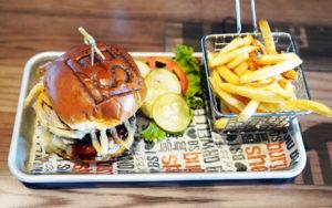 Burger Shed Burger